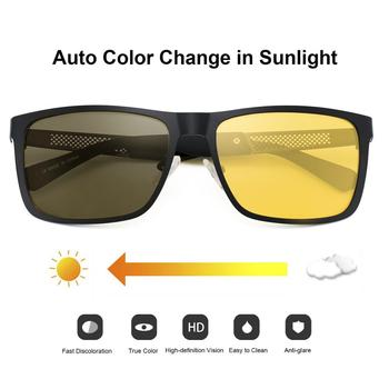 Vision Nocturna Night Vision Glasses Polarized Anti-Glare Lens Yellow Sunglasses Women Men Driving Night Vision Goggles For Car sunglasses driving night vision lens sun glasses male anti uva uvb for men women with case
