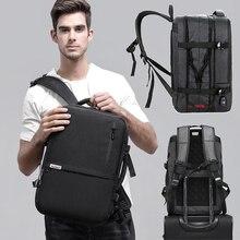 17 Inch Laptop Bag Black Backpack Male Men Bagpack USB Charging Back Pack 15.6 Schoolbag Travel Waterproof Backpacks Man Backbag цены онлайн