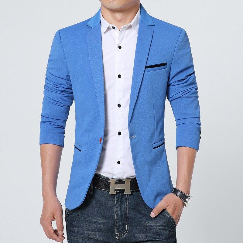 ZOGAA New Korean Men Blazer Casual Slim Fit Office Suit Spring Autumn Jacket Coat Formal Masculina Blazer Men's Business Blazers