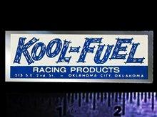 Voor X2 Kool Brandstof Racing Producten-Originele Vintage Jaren 70's Racing Decal/Sticker