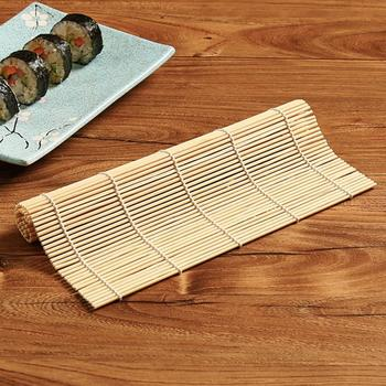 1 Set DIY Bamboo Sushi Mat Sushi Curtain Rice Sushi Making Kits Bamboo Sushi Maker Set Home Kitchen Cookware Roll Cooking Tools jina bacarr naked sushi