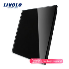 Livolo EU Standard Blank glass panel ,All Blank(For Decoration) ,Glass Panel, Not the Switch,C7-C0-11/12/13/15 (4 Colors),no log