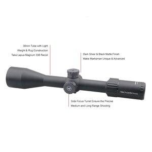 Image 2 - וקטור אופטיקה צלף 6 24x50 FFP טקטי Riflescope 1/10 MIL דקות פוקוס 10yds הראשון מישור מיקוד רובה ציד. 338 Lap