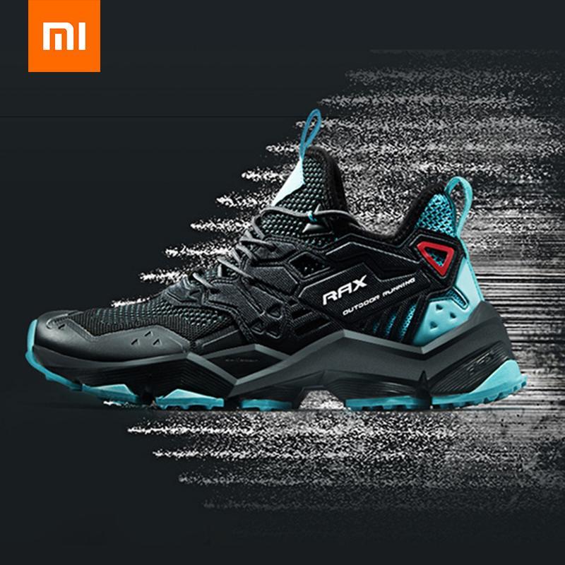 Hommes Non-cuir décontracté plein air doux confortable sport baskets chaussures de course maille respirant volant tissé de Xiaomi youpin