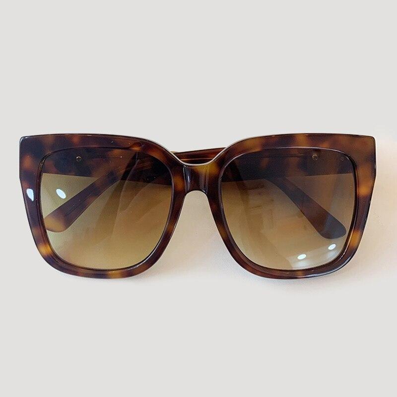 Oversized Cat Eye Sunglasses Women Retro Luxury Brand Designer Square Sun Glasses gafas de sol hombre