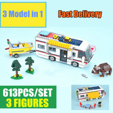 New 3117 Creator 3in1 Vacation Getaways fit city figures technic Model Building Blocks bricks Toy Children kid gift boy birthday