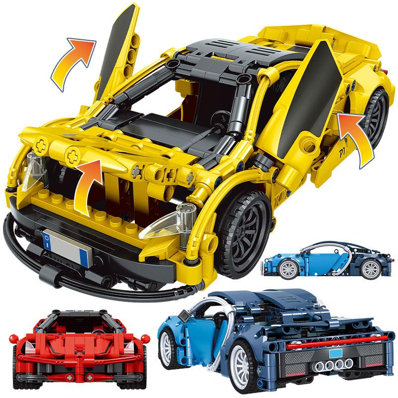 Winner Creator Pull Back Mechanical Sports Car