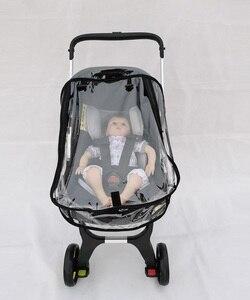Image 3 - Foofoo مقعد السيارة معطف واق من المطر عربة طفل الملحقات غطاء للمطر غطاء مقاوم للماء ل Doona عربة