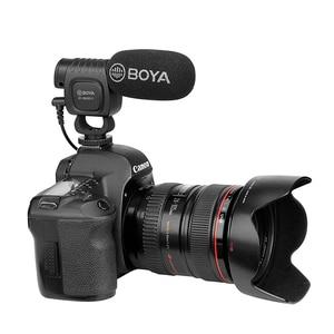 Image 2 - BOYA BY BM3011 على كاميرا مكثف القلب ميكروفون الصوت والفيديو استوديو هيئة التصنيع العسكري لكانون نيكون DSLR PC الهاتف الذكي لايف تسجيل الدخول
