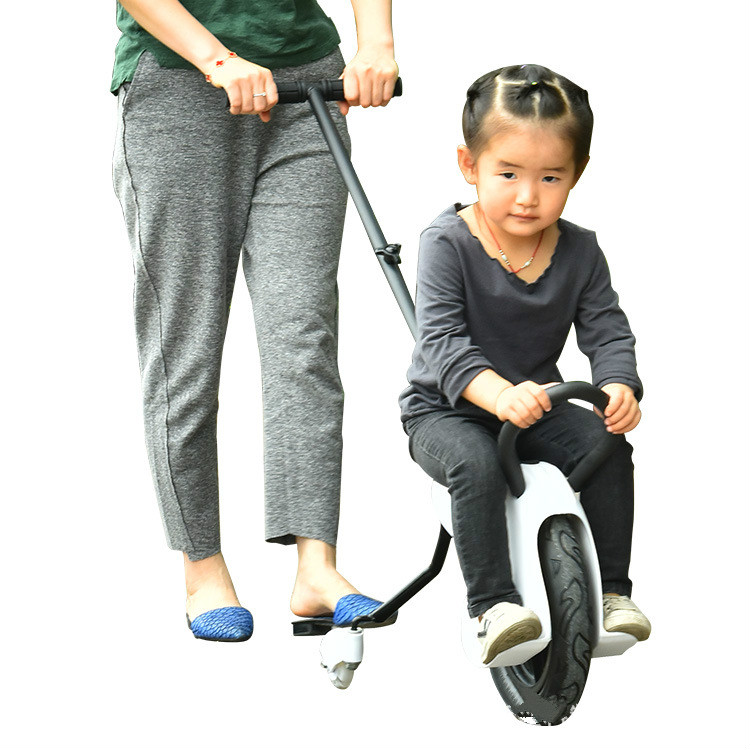 New child cool hand push balance car inflatable unicycle push scooter 3 wheels baby trolley