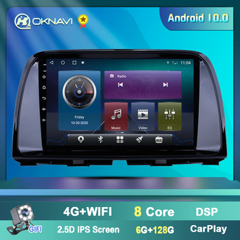 Android 10.0 Car Radio Stereo Multimedia For Mazda CX 5 CX-5 2013-2016 Navigation Video Player GPS WIFI Subwoofer No 2 din DVD eunavi 8 hd screen 2 din android 9 0 quad core car dvd player for 2010 2011 2012 2013 mazda 3 stereo radio gps navigation wifi