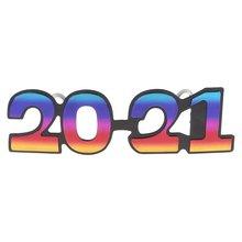 2021 номер Блеск Очки Новый год ЕВА очки с оправой вечерние