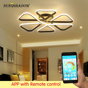 Luminiaires Modern Led Ceiling Light Black&White Surface Mounted Ceiling Lamp For Living room Bedroom Kitchen Dining room Lights black white square round led ceiling lamp living room dining room bedroom hall kitchen decoration modern dimming ceiling lamp