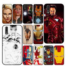 Tony Stark Marvel Iron Man Cases For Huawei Honor V9 V10 8 9 10 8X 5A 7A 5X Play Lite TPU Cover(China)