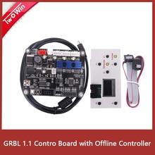 GRBL 1,1 USB порт ЧПУ гравировальный станок плата управления, 3 оси управления, лазерная гравировальная машина плата с автономным управлением