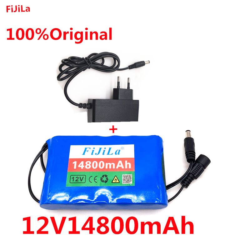 <font><b>12V</b></font> <font><b>Battery</b></font> <font><b>Pack</b></font> Large Capacity 12V14.80ah <font><b>18650</b></font> Lithium <font><b>Battery</b></font> Protection Board <font><b>12V</b></font> 14800mah Capacity+Charger image