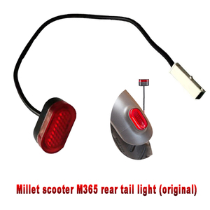 Electric Scooter Rear Tail Light Lamp LED Tail Stoplight Brake Bird Scooters Safety Light for Xiaomi M365 Scooter Vehicles(China)