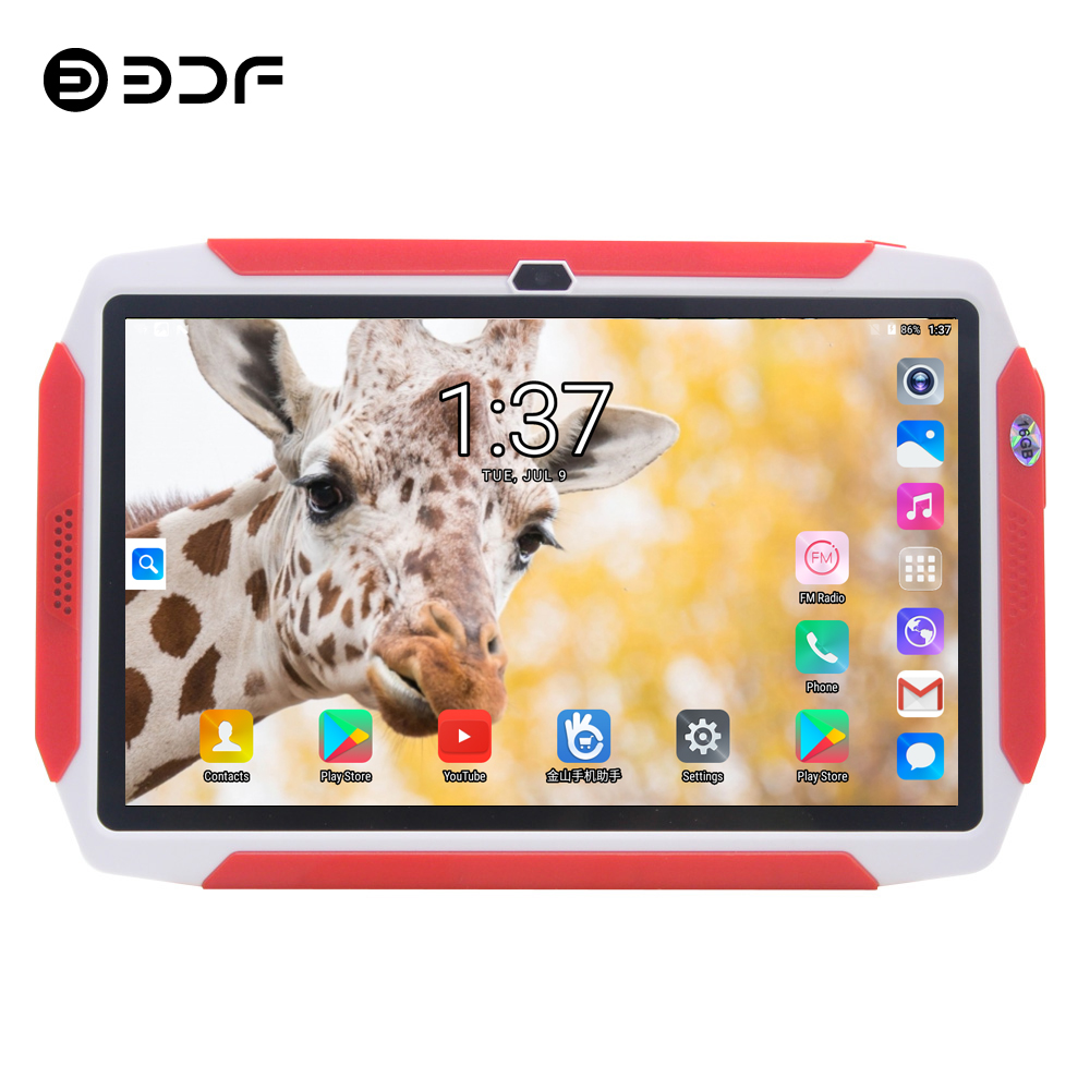 BDF 2020 Kids Tablet 7 Inch Android 7.0 Tablet Pc Quad Core 16GB WiFi Tablet Bluetooth Tablets Google Market Pc Tablets For Kids