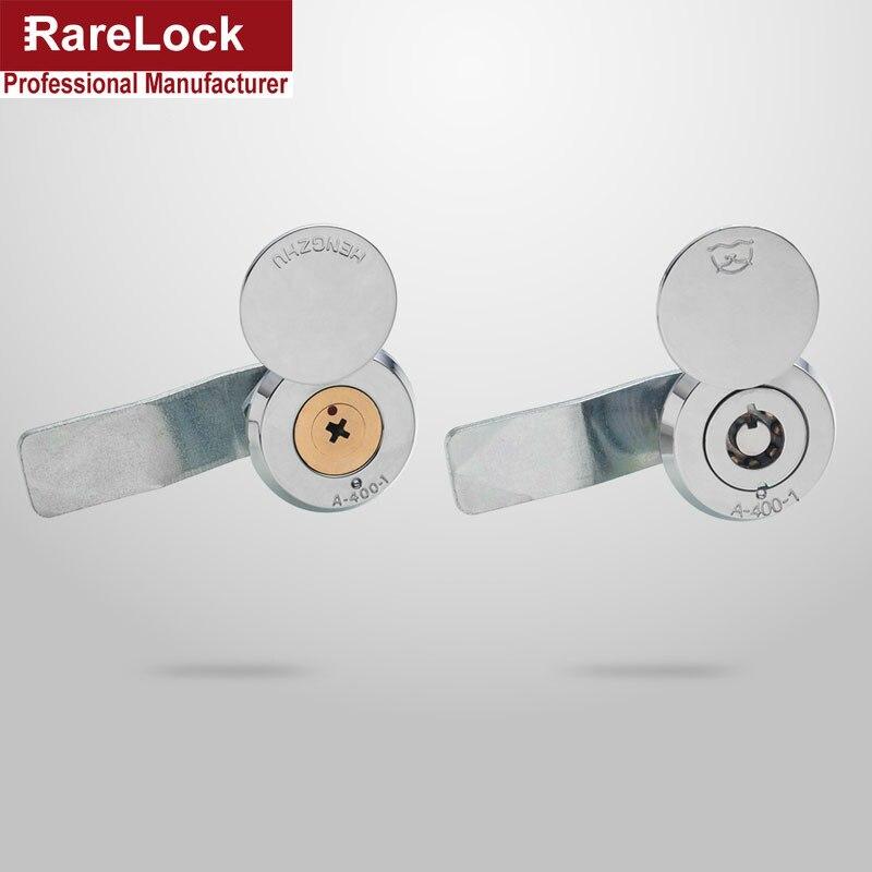Rarelock Cabinet Cam Lock With Cap 2 Tubular Cross Key For Outside Box Door Mailbox Industrial Hardware LK1002 Ff
