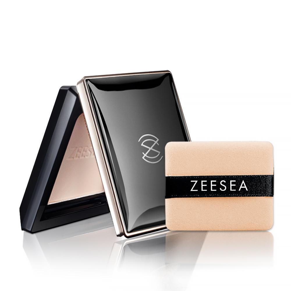 ZEESEA Loose Powder Compact Pressed Powder For Face Control Oil Lasting Concealer Waterproof High Gloss Female Repair Makeup 13g