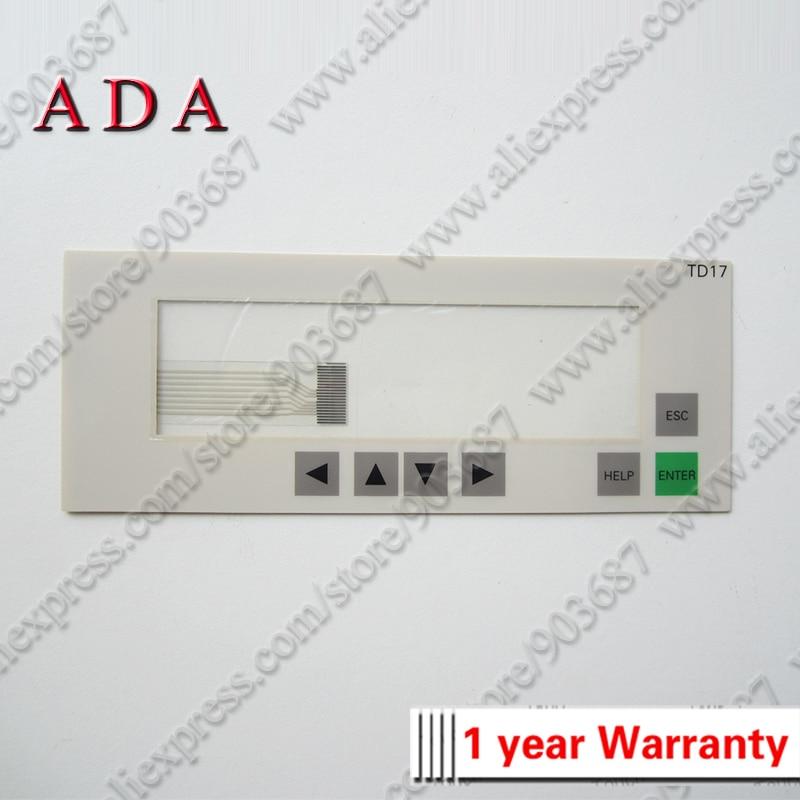 Мембранная клавиатура для 6AV3017-1NE30-0AX0 текстовый дисплей TD 17-DP12 мембранный переключатель для 6AV3 017-1NE30-0AX0 текстовый дисплей TD17-DP12