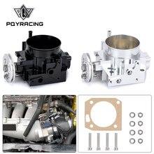 PQY-için yeni gaz kelebeği gövdesi RSX DC5 CIVIC SI EP3 K20 K20A 70MM CNC emme gaz kelebeği gövdesi performans PQY6951