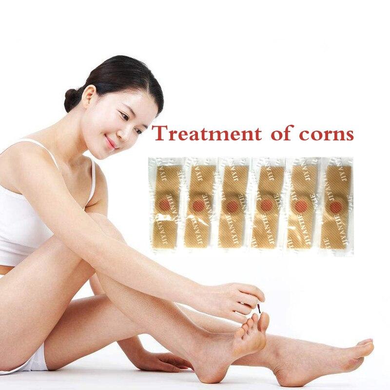 40pcs Foot Corn Killer Calluses Plantar Warts Thorn Pain Relief Plaster Foot Care Tool Medical Sticker Toe Protector