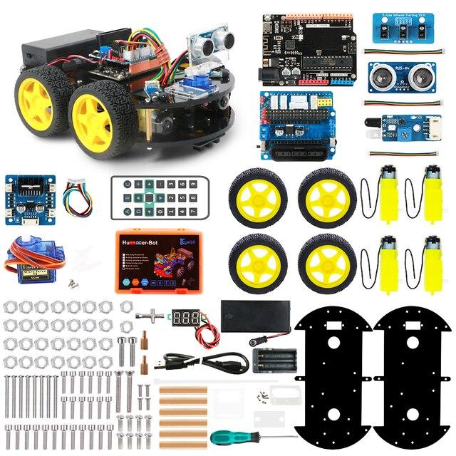 Keywish-4WD-Robot-Cars-for-Arduino-Starter-Kit-Smart-Car-APP-RC-Robotics-Learning-Kit-Educational