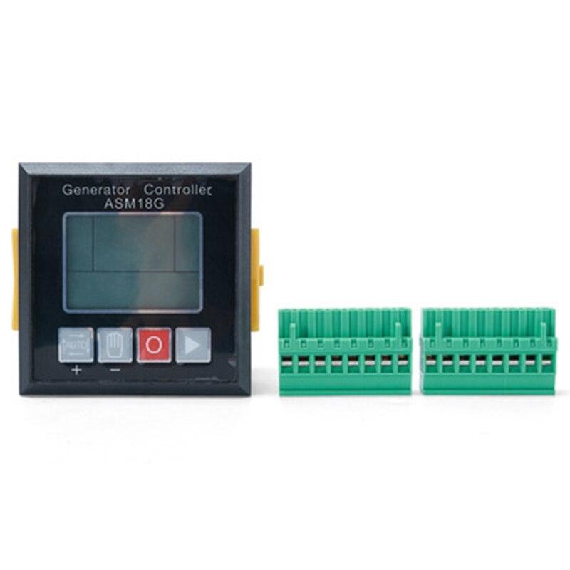 발전기 컨트롤러 genset 부품 asm18g 자동 시작 전원 발전기 전자 모니터 보드 pannel 제어 모듈-에서기구 부품 & 액세사리부터 도구 의 title=