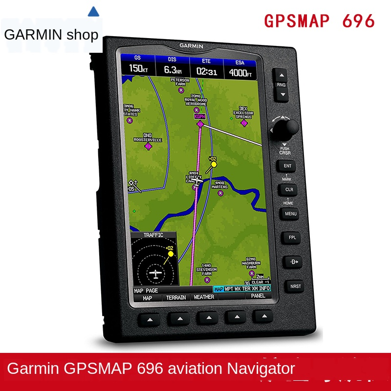 High Definition Touch GPS Satellite Navigation For Pilots Of Garmin Jiaming GPS Map Aera696 Aviation Private Aircraft