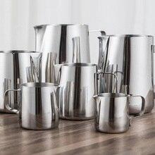 Milk-Foam-Tool Flower-Cups Milk-Jugs Latte-Art Stainless-Steel Pull