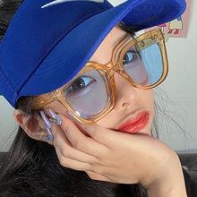 Женские солнцезащитные очки в стиле ретро квадратные винтажном
