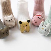 Baby Socks Floor Non slip Cotton Cartoon Doll socks Warm Baby Socks Adorable Socks Baby Girls Boys Soft Cute Boots