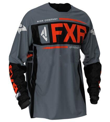 Long Sleeve Downhill Jersey Motocross Cycling Jerseys Moto GP FXR 2