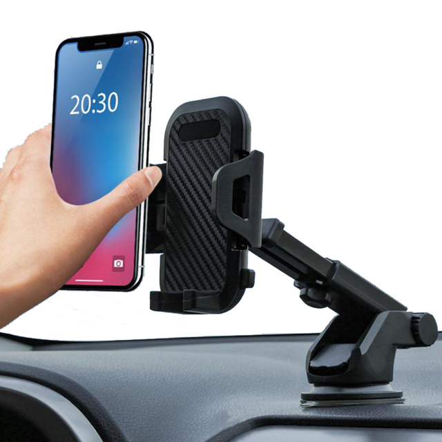 New Sucker Car Phone Holder Support For Mobile Phone Stand Windshield Smartphone Stand Cell Phone Car Mount