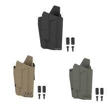 OWB Kydex – étui pour pistolet léger, avec vis, pour Glock 17 19 Surefire X300, taille droite