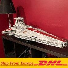 Lepining 05077 MOC Star Set Wars The UCS ST04 Republic Cruiser Star Destroyer zabawki klocki klocki prezenty dla dzieci