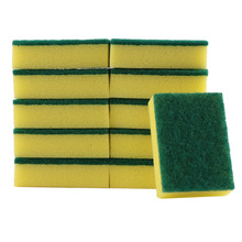 купить 10Pcs Melamine Sponge Magic Sponge Eraser Melamine Cleaner for Kitchen Office Bathroom Cleaning Nano Sponges 11X7X3CM дешево