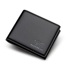 Wysokiej jakości wykwintne skóry wołowej męskie portfele z etui na karty wodoodporne skórzane męskie portfele kopertówki męskie okładka na paszport torebki tanie tanio DOMISO Prawdziwej skóry Skóra bydlęca CN (pochodzenie) Krótki 0 16 Poliester Animal prints Biznes WB02 Wnętrze slot kieszeń