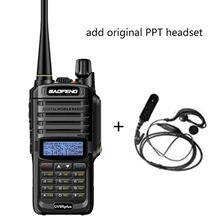2019 ใหม่สูงอัพเกรด Baofeng UV 9R PLUS กันน้ำ walkie talkie 10 W สำหรับวิทยุสองทิศทาง 10 KM 4500 mAh UV 9R PLUS
