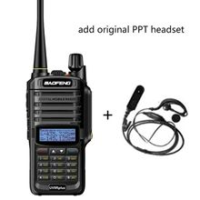 2019 NEUE High Power Upgrade Baofeng UV 9R plus Wasserdichte walkie talkie 10w für zwei 2 wege radio langstrecken 10km 4500mah uv 9r plus