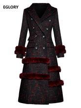Высококачественное новое длинное шерстяное пальто 2020 зимнее