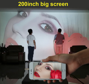 Умный 3D-проектор WZATCO D2 4