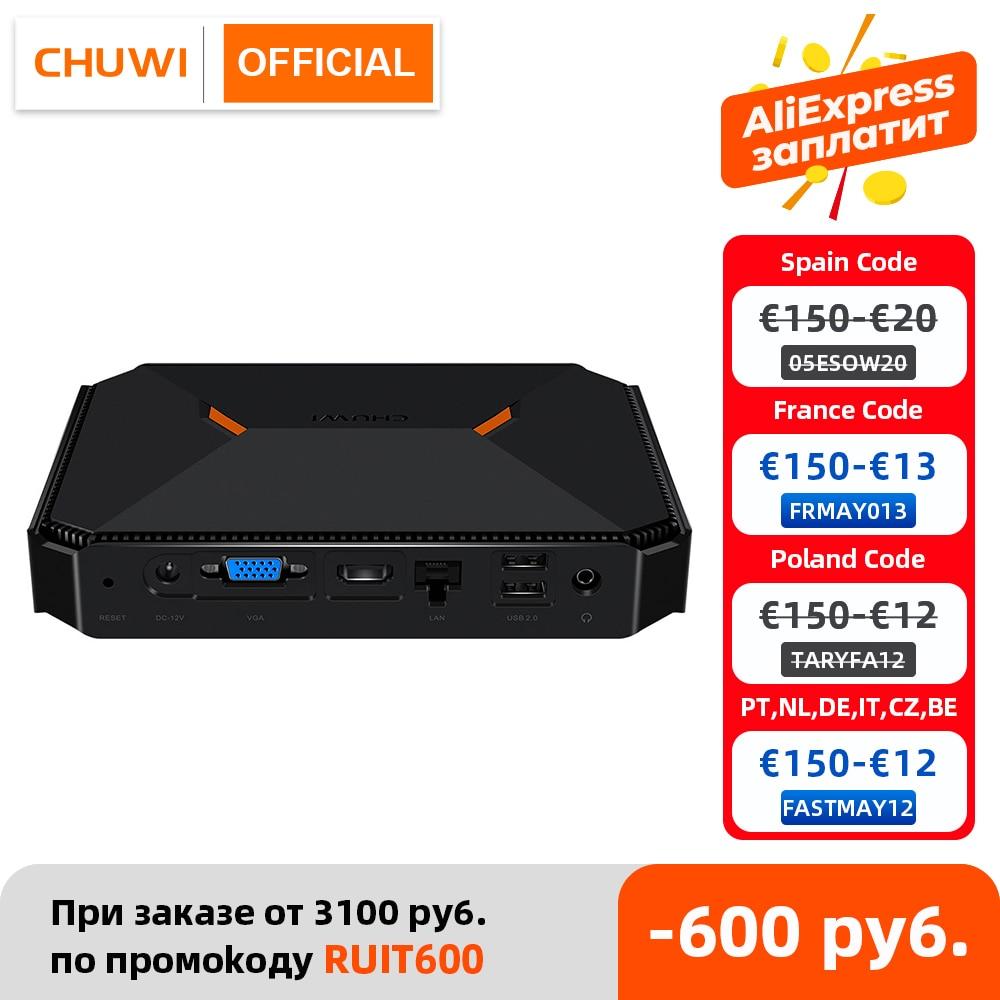CHUWI Herobox мини-ПК Intel Gemini-Lake N4100 четырехъядерный LPDDR4 8 Гб 256G SSD Операционная система Windows 10 с HD LAN VGA портом