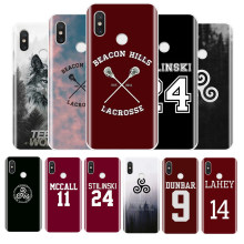 Teen Wolf Stilinski 24 McCall 11 Lahey 14 Silikon Phone Case untuk Xioami 4 4 S 5 5S 6 8 9 Lite Plus Note 3 MAX2 MAX3 Shell(China)