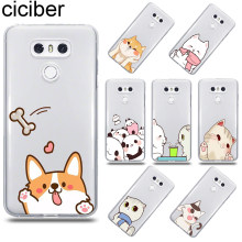 Ciciber Puppy kitten สำหรับ LG G6 G7 V20 V30 V35 V40 THINQ Soft Case สำหรับ LG K8 K7 k10 K4 2017 2018 K9 K11 PLUS Case TPU(China)
