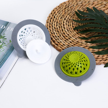 Floor Drain Sewer-Strainer Hair-Stopper Sink Shower Silicone Household Home Cleaning-Tools