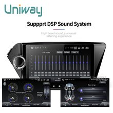 Uniway PX30 android 9.0 car dvd for kia rio k2 2012 2013 2015 2016 car radio stereo gps navigation car dvd gps player radio(China)