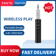 Earphone-Receiver Audio-Adapter Handsfree-Kit Jack Aux Bluetooth Wireless Music MP3 Car