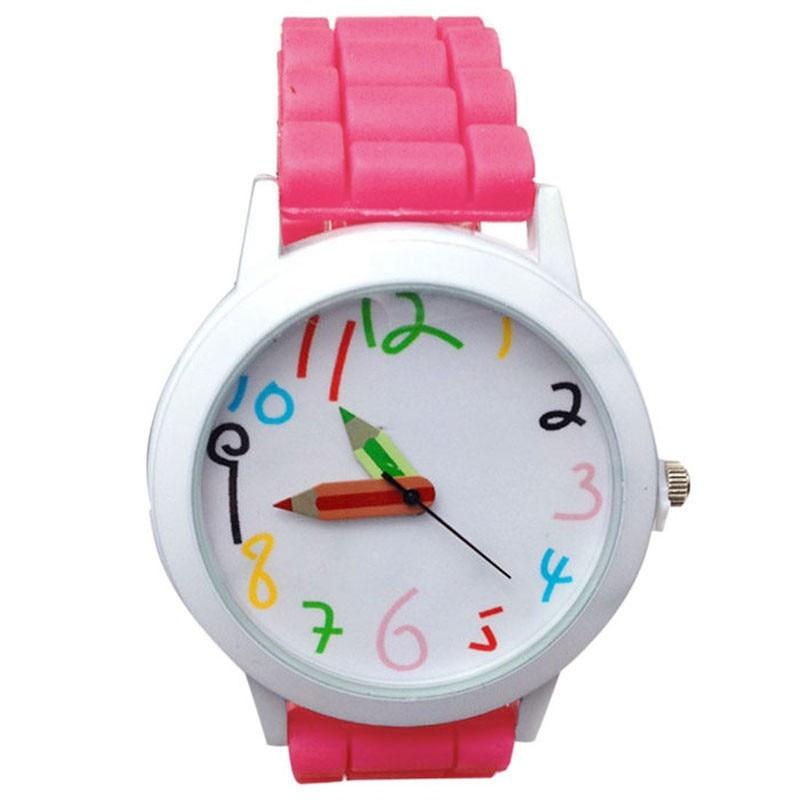 Watches Women Casual Sport Quartz Wrist Watch Multicolor Silica Gel Band Student Watch Women Simple Watch Dress Gift Relogio